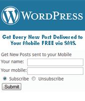 wordpress bongo live sms plugin